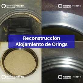 Ranurado de cilindro para oring block