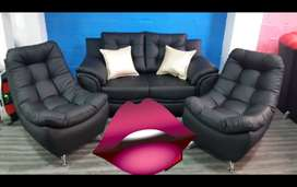 Sala Relax Nuevo Negra Rojo