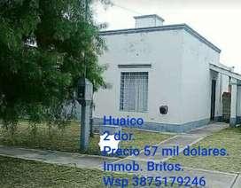Oportunidad Casa B Huaico 55 mil usd
