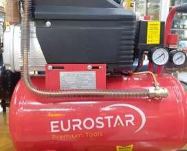 Compresor de aire Eurostar 25 litros