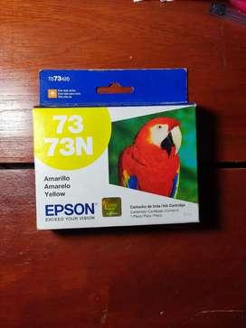 Vendo Cartucho De Impresora Epson Original Color Amarillo