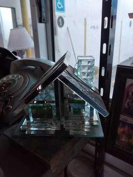 Velador de Vidrio, nuevo