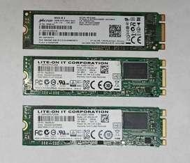 DISCO SSD  M2 - USADOS de 256 GB
