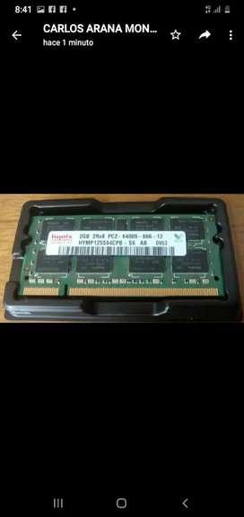 Memoria Ddr2 de 2 gb