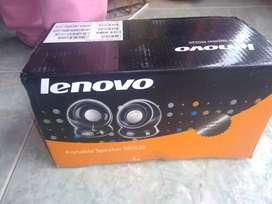Parlantes Lenovo totalmente nuevos.