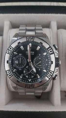 Vendo reloj festina cronografo original