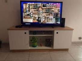 Mueble TV Rack estilo nórdico