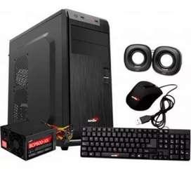 Pc computadora gamer / oficina / hogar, nueva, Windows 10,  4gb ddr4 ram, 1 tb, amd a8