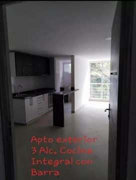 Arriendo Apto 3 habitaciones Pan de Azucar