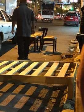 Necesito con urgencia maestro carpintero con experiencia en armado de sillas y mesas