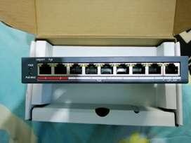 Switch hik visión de 8 puertos totalmente nuevo
