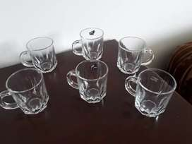 Vasos , cristal