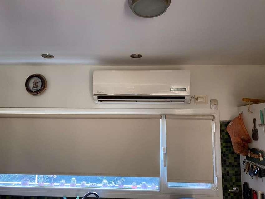 Vendo Aire Acondicionado usado marca ELECTRA frio/calor 4500 frigorias 0