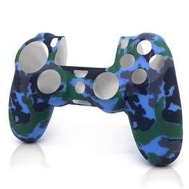 Funda de silicona para mando de PS4/Militar azul- RAC Custom Controls (RAC_00659)