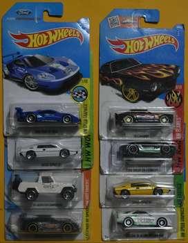 Hot Wheels Lote 6 carros Ediciones Pasadas Nuevos Coleccionables L11