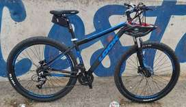 Bicicleta Mountain Bike Look Zero Rod.29 24 Vel. Freno Hidr.