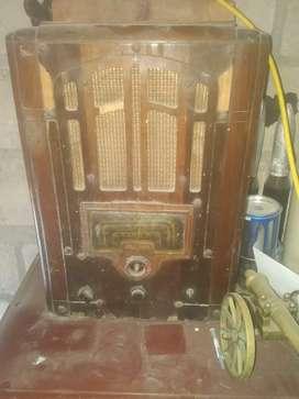Radio de madera