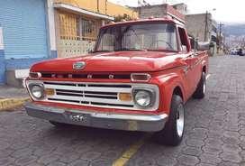 Vendo ford 100 clasica año 66