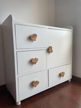 Mueble cambiador Closet bebe