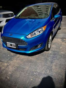 Ford Fiesta 1.6 sedan titanium powershift 120cv