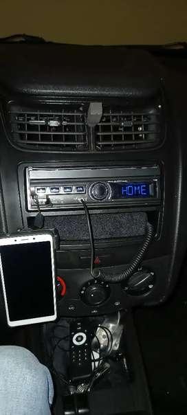 rines modificados radio de pantalla motorizado