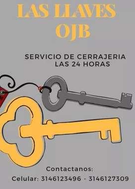 Cerrajero las llaves ojb