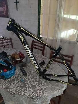 Marco de bicicleta venzo