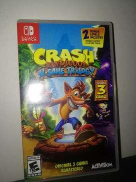 Videojuego Crash Bandicoot N Sane Trilogy para Nintendo Switch