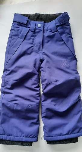Pantalon para nieve talle 2