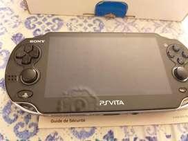 PS Vita Fat Como Nueva con Caja y Manuales