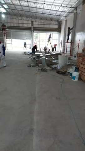 Albañileria  colocaciones cimientos vzapatas techos  viga  chapa loza colocacione averturas grietAs en paredes techos