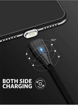 Turbo Super Carga Motorola Cable Magnético Trenzado Carga Rapida v3 iPhone Android TipoC Lightining MicroUSB - 8888