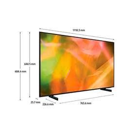 TV SAMSUNG 50 Pulgadas 127 cm 50AU8000 4K-UHD LED Plano Smart TV