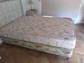 Vendo sommier + colchón de 1,30mts