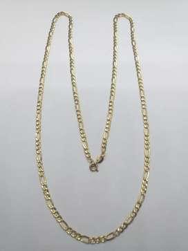 Vendi cadena de oro 18k italiano garantizado
