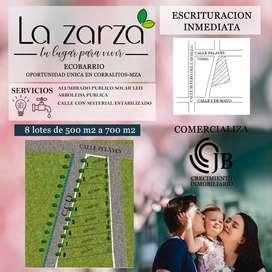 LOTES BARRIO PRIVADO LA ZARZA
