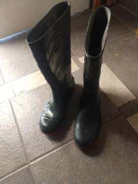Botas para lluvia