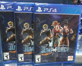 Jump Force Ps4 Nuevo Sellado Stock