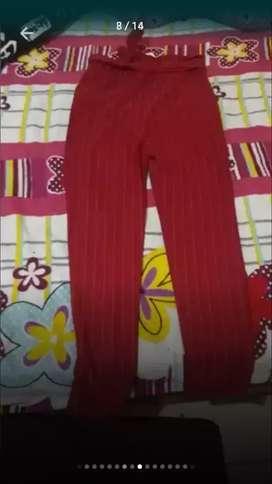 Pantalón de lazo