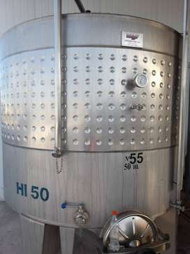 TANQUE INOXIDABLE VELO 5 mil litros