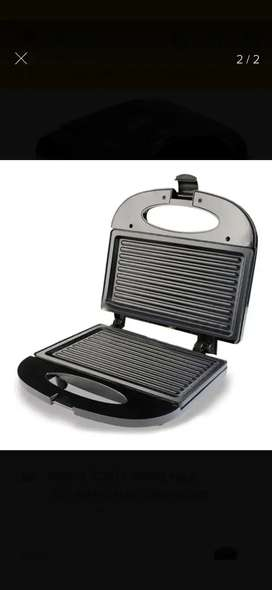 Sanduchera Grill Asador Placa antiadherente Marca Home Elements