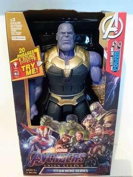 Muñecos Avengers 30 cm con Luz y Sonidos