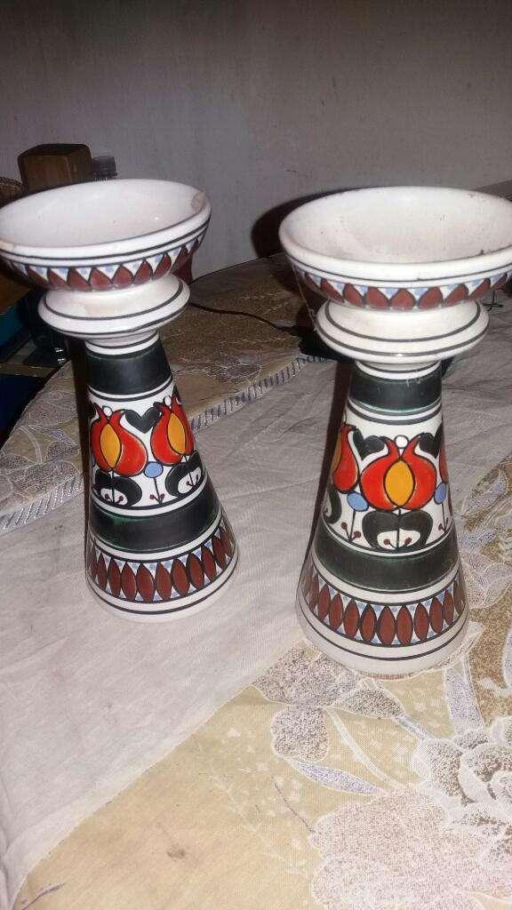 Par Velero Ceramica Bariloche Antigua 0