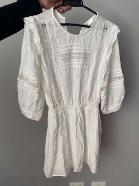 Vestido blanco encaje
