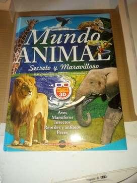 Libro Mundo animal
