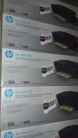 Impresoras multifunciónales nuevas HP 315