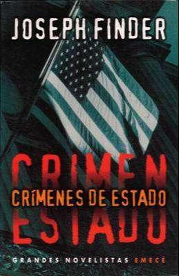 Libro: Crímenes de estado, de Joseph Finder [novela de espionaje]
