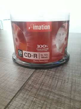PAQUETE CD-R 50DISCS