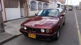 BMW 520 1992 Rojo - Full equipo