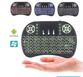 Teclado con mouse integrado alambrico